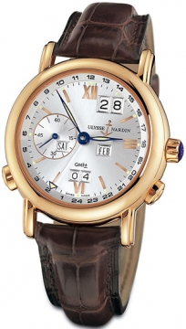 Ulysse Nardin GMT +/- Perpetual 40mm Mens watch, model number - 326-82/31, discount price of £23,800.00 from The Watch Source