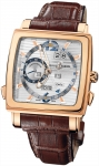 Ulysse Nardin Quadrato Dual Time Perpetual 326-90/91 watch
