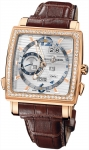 Ulysse Nardin Quadrato Dual Time Perpetual 326-90b/91 watch