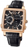 Ulysse Nardin Quadrato Dual Time Perpetual 326-90b/92 watch