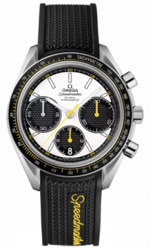 Buy this new Omega Speedmaster Racing Co-Axial Chronograph 40mm 326.32.40.50.04.001 mens watch for the discount price of £2,808.00. UK Retailer.
