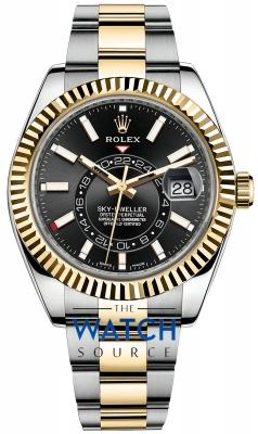 Rolex Sky Dweller 42mm 326933 Black Index watch