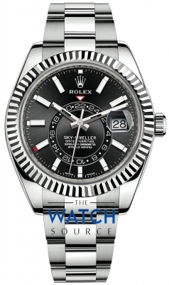 Rolex Sky Dweller 42mm 326934 Black Index watch