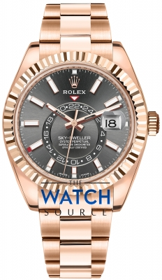 Rolex Sky Dweller 42mm 326935 Rhodium Index watch
