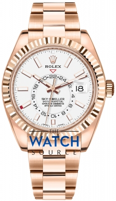Rolex Sky Dweller 42mm 326935 White Index watch