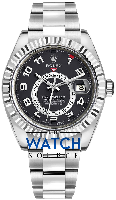 Rolex Sky Dweller 42mm 326939 Black Arabic