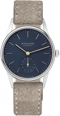 Nomos Glashutte Orion 33 32.8mm 329 watch