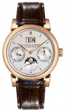 A. Lange & Sohne Saxonia Annual Calendar 38.5mm Mens watch, model number - 330.032, discount price of £30,240.00 from The Watch Source
