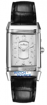 Jaeger LeCoultre Grande Reverso Lady Ultra Thin Duetto Duo Ladies watch, model number - 3308421, discount price of £7,352.00 from The Watch Source