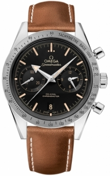Buy this new Omega Speedmaster '57 Co-Axial Chronograph 41.5mm 331.12.42.51.01.002 mens watch for the discount price of £5,328.00. UK Retailer.