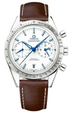 Buy this new Omega Speedmaster '57 Co-Axial Chronograph 41.5mm 331.92.42.51.04.001 mens watch for the discount price of £6,408.00. UK Retailer.