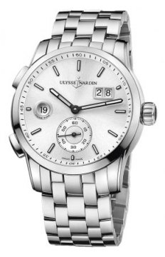 Ulysse Nardin Dual Time Manufacture 42mm Mens watch, model number - 3343-126-7/91, discount price of £7,174.00 from The Watch Source