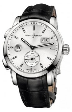 Ulysse Nardin Dual Time Manufacture 42mm Mens watch, model number - 3343-126/91, discount price of £6,215.00 from The Watch Source