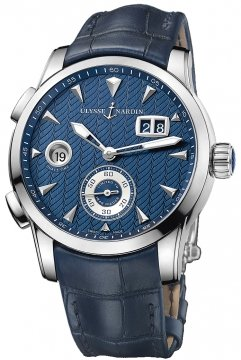 Ulysse Nardin Dual Time Manufacture 42mm 3343-126LE/93 watch