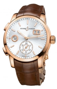 Ulysse Nardin Dual Time Manufacture 42mm Mens watch, model number - 3346-126/91, discount price of £16,677.00 from The Watch Source