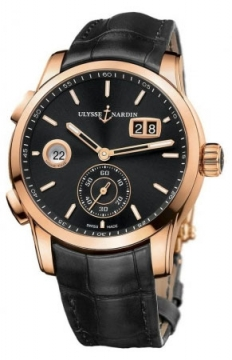 Ulysse Nardin Dual Time Manufacture 42mm Mens watch, model number - 3346-126/92, discount price of £15,690.00 from The Watch Source