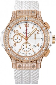 Hublot Big Bang Gold White 41mm Ladies watch, model number - 341.pe.2010.rw.1704, discount price of £27,200.00 from The Watch Source