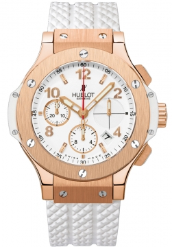 Hublot Big Bang Chronograph 41mm Midsize watch, model number - 341.pe.2010.rw, discount price of £19,020.00 from The Watch Source