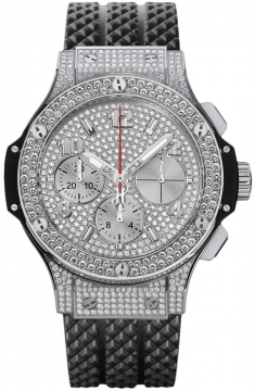 Hublot Big Bang Steel 41mm Midsize watch, model number - 341.sx.9010.rx.1704, discount price of £28,560.00 from The Watch Source