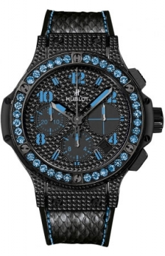 Hublot Big Bang Black Fluo 41mm Ladies watch, model number - 341.sv.9090.pr.0901, discount price of £14,480.00 from The Watch Source