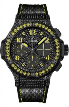 Hublot Big Bang Black Fluo 41mm Ladies watch, model number - 341.sv.9090.pr.0911, discount price of £14,480.00 from The Watch Source