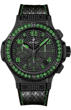 Hublot Big Bang Black Fluo 41mm Ladies watch, model number - 341.sv.9090.pr.0922, discount price of £14,480.00 from The Watch Source