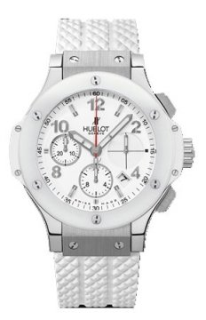 Hublot Big Bang Steel White 41mm Ladies watch, model number - 342.se.230.rw, discount price of £8,160.00 from The Watch Source