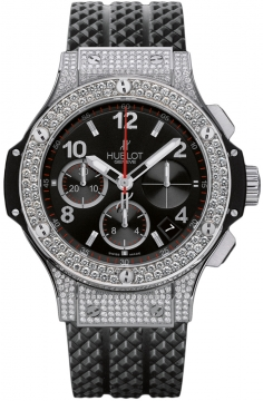 Hublot Big Bang Steel 41mm Midsize watch, model number - 342.sx.130.rx.174, discount price of £15,200.00 from The Watch Source