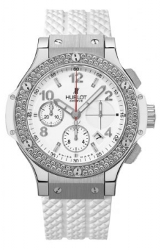 Hublot Big Bang Steel White 41mm Ladies watch, model number - 342.se.230.rw.114, discount price of £9,440.00 from The Watch Source