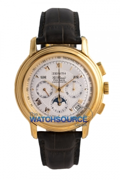 Zenith Chronomaster GT Mens watch, model number - 35.1240.4001/01.c496, discount price of £11,550.00 from The Watch Source