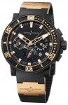 Ulysse Nardin Maxi Marine Diver Black Sea Chronograph 353-90-3 watch