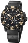 Ulysse Nardin Maxi Marine Diver Black Sea Chronograph 353-90-3c watch