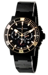 Ulysse Nardin Maxi Marine Diver Black Sea Chronograph 353-95LE-3C BIG UNIT watch