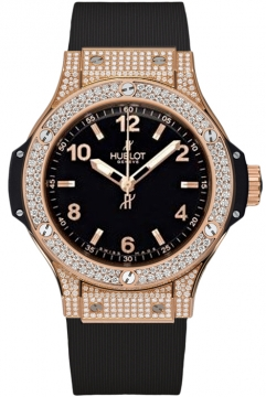 Hublot Big Bang Quartz Gold 38mm Ladies watch, model number - 361.px.1280.rx.1704, discount price of £19,020.00 from The Watch Source
