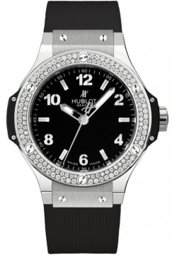 Hublot Big Bang Quartz Steel 38mm Ladies watch, model number - 361.sx.1270.rx.1104, discount price of £6,880.00 from The Watch Source