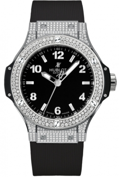 Hublot Big Bang Quartz Steel 38mm Ladies watch, model number - 361.sx.1270.rx.1704, discount price of £11,200.00 from The Watch Source