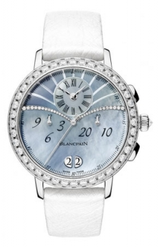 Blancpain Ladies Chronograph Flyback Grande Date Ladies watch, model number - 3626-1954L-58a, discount price of £25,908.00 from The Watch Source