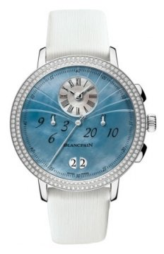 Blancpain Ladies Chronograph Flyback Grande Date Ladies watch, model number - 3626-4544L-64a, discount price of £12,920.00 from The Watch Source