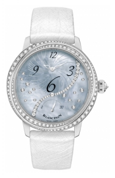 Blancpain Ladies Off Centered Hour Retrograde Seconds Ladies watch, model number - 3650a-3554L-58b, discount price of £18,328.00 from The Watch Source
