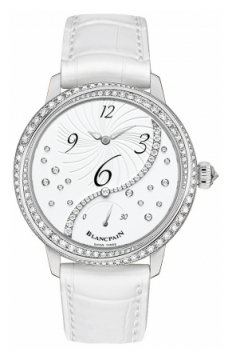Blancpain Ladies Off Centered Hour Retrograde Seconds Ladies watch, model number - 3650a-4528-55b, discount price of £10,290.00 from The Watch Source