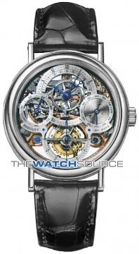 Breguet Tourbillon Perpetual Calendar Mens watch, model number - 3755pr/1e/9v6, discount price of £142,800.00 from The Watch Source