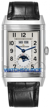 Jaeger LeCoultre Grande Reverso Calendar Mens watch, model number - 3758420, discount price of £6,800.00 from The Watch Source