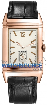 Jaeger LeCoultre Grande Reverso Ultra Thin Duoface Mens watch, model number - 3782520, discount price of £12,135.00 from The Watch Source