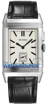 Jaeger LeCoultre Grande Reverso Ultra Thin Duoface Mens watch, model number - 3788570, discount price of £6,205.00 from The Watch Source