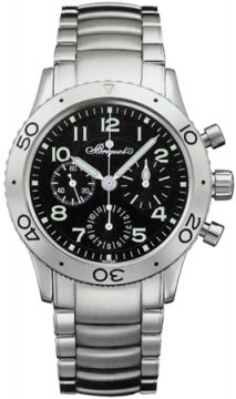 Breguet Type XX Aeronavale Mens watch, model number - 3800st/92/sw9, discount price of £6,474.00 from The Watch Source