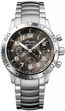 Breguet Type XXI Flyback Mens watch, model number - 3810st/92/sz9, discount price of £7,968.00 from The Watch Source