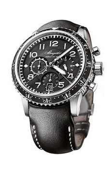 Breguet Transatlantique Type XXI Flyback Mens watch, model number - 3810ti/h2/3zu, discount price of £7,820.00 from The Watch Source