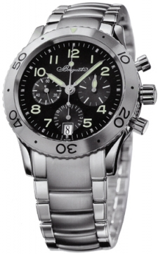 Breguet Type XX Transatlantique - Steel Mens watch, model number - 3820st/h2/sw9, discount price of £7,740.00 from The Watch Source