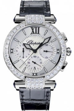 Chopard Imperiale Automatic Chronograph 40mm Ladies watch, model number - 384211-1001, discount price of £31,560.00 from The Watch Source