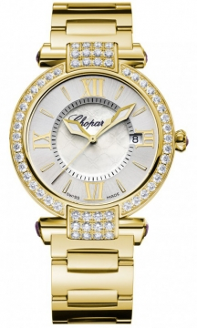 Chopard Imperiale Quartz 36mm Ladies watch, model number - 384221-0004, discount price of £22,800.00 from The Watch Source